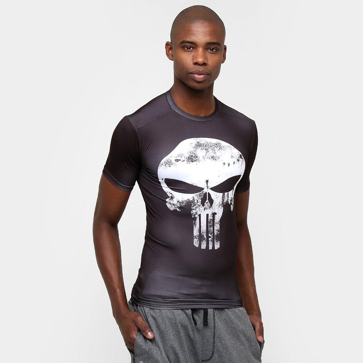 1f27442c9a66a Camiseta de Compressão Under Armour Alter Ego Punisher Masculina - Compre  Agora