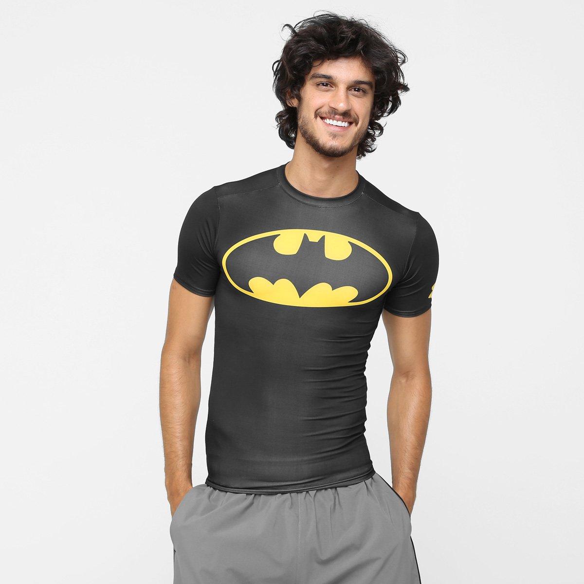 43023debbf8b8 Camiseta de Compressão Under Armour Batman Masculina - Compre Agora ...