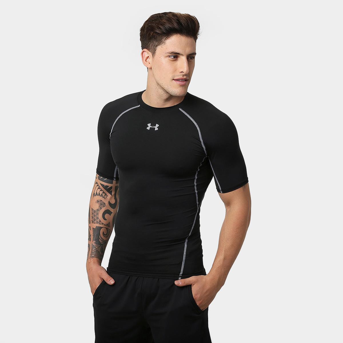 8bfc3d930f Camiseta de Compressão Under Armour Heatgear Masculina - Compre Agora