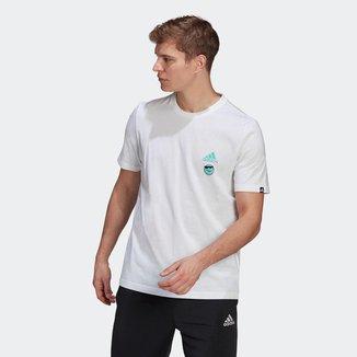 Camiseta Estampada Club Culture Adidas