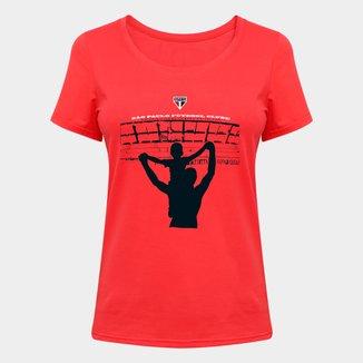 Camiseta Eu Vou Lá No Morumbi Feminina
