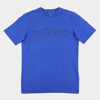Camiseta Infantil Adidas Essentials Big Logo Linear Masculina