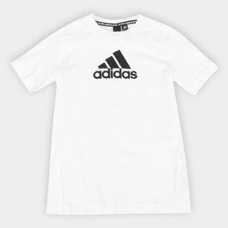 Camiseta Infantil Adidas Logo Masculina