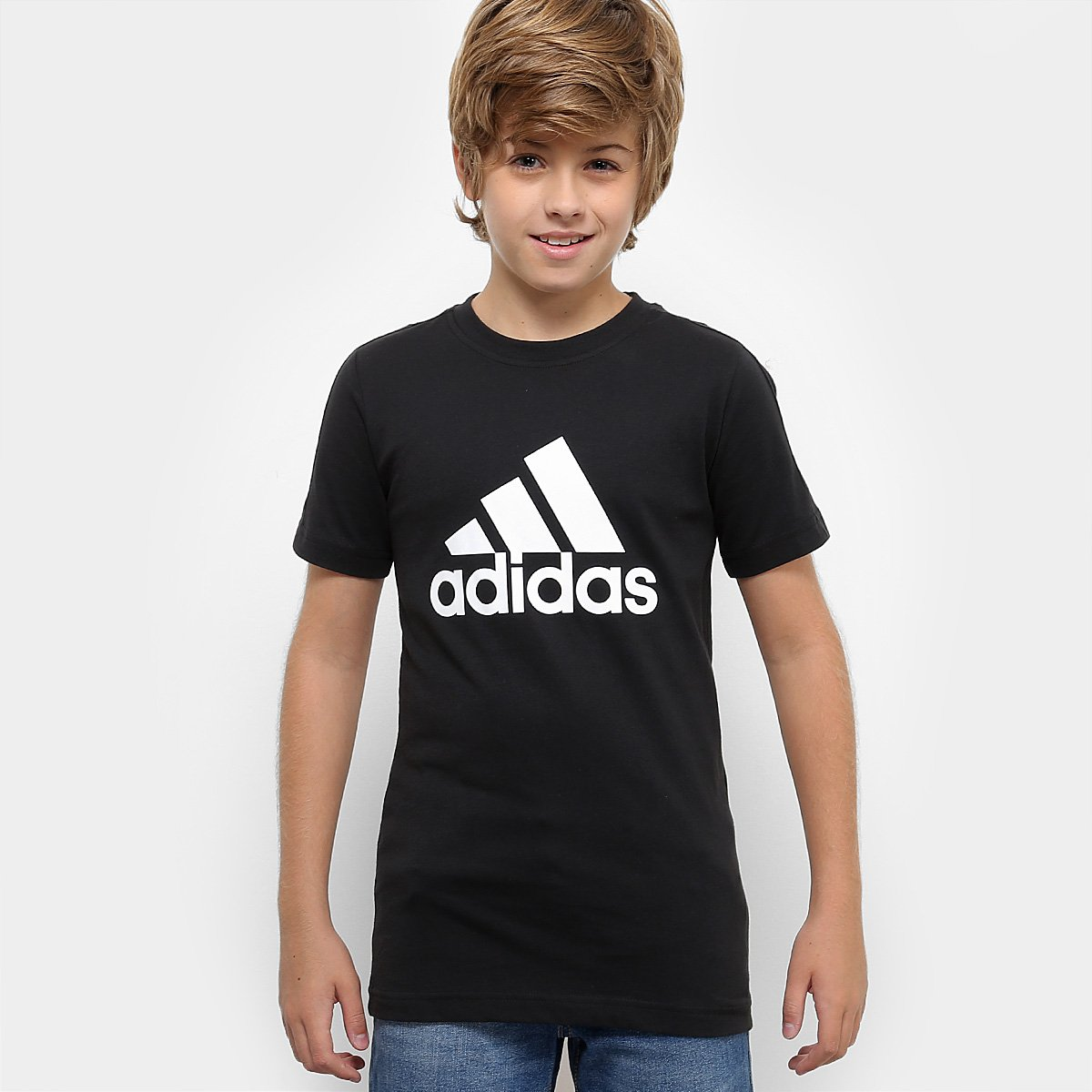 a7526e74db3 Camiseta Infantil Adidas Mc Yb Masculina - Compre Agora