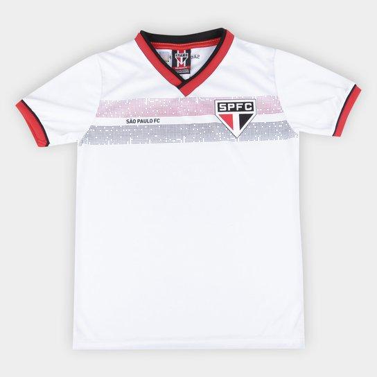 Camiseta Infantil São Paulo Evoke - Branco