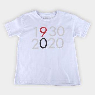 Camiseta Juvenil São Paulo 1930-2020