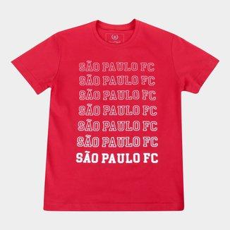 Camiseta Juvenil São Paulo Repeat Retrô Mania
