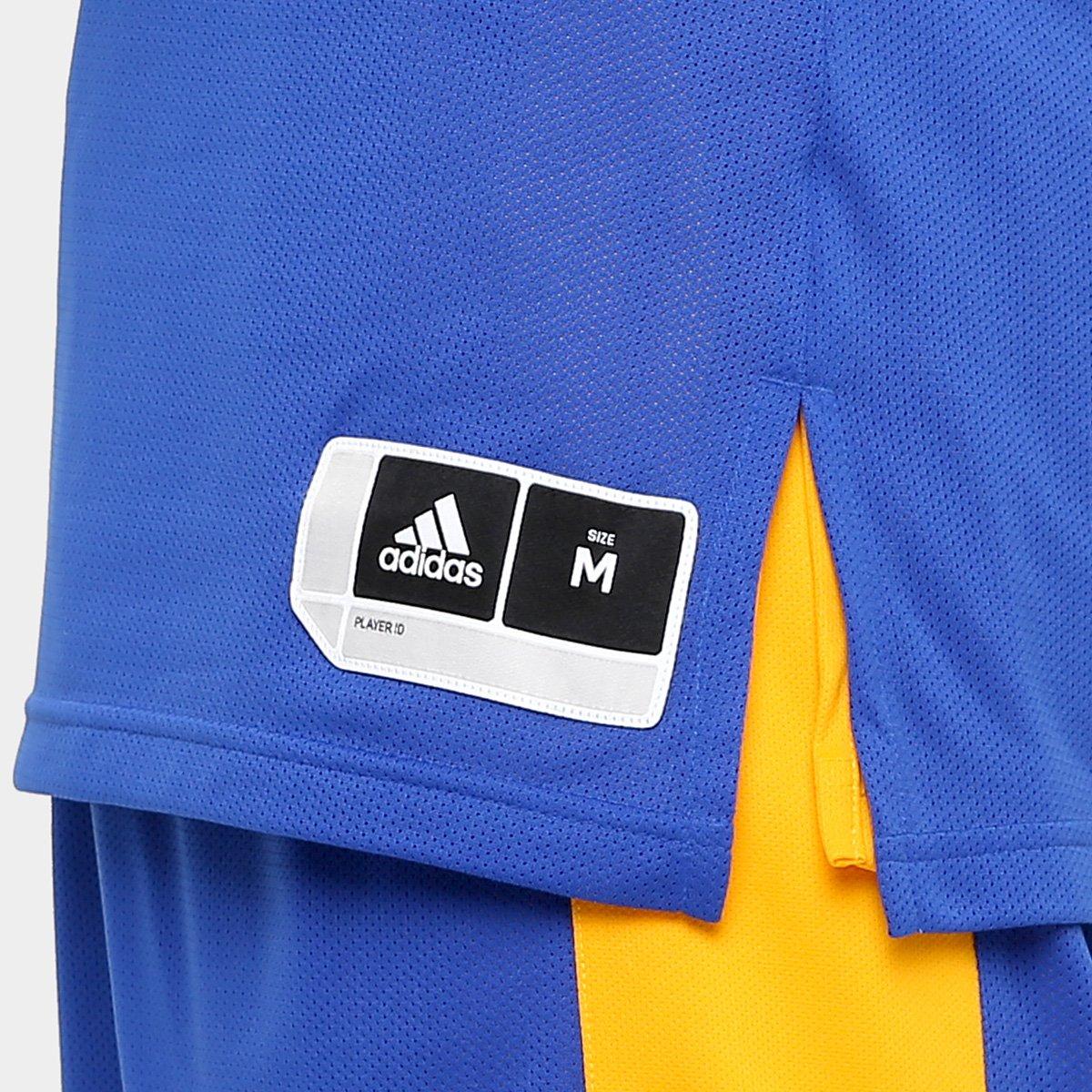 Camiseta Regata Adidas Treino Reversivel Masculina - Azul - Compre ... 9a8058e2192ca