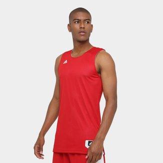 Camiseta Regata Adidas Treino Reversivel Masculina