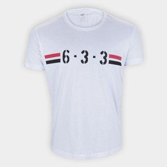 Camiseta São Paulo 6-3-3 Retrô Mania Masculina