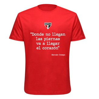 Camiseta São Paulo Corazón Masculina
