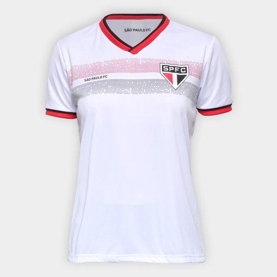 Camiseta São Paulo Evoke Feminina - Branco
