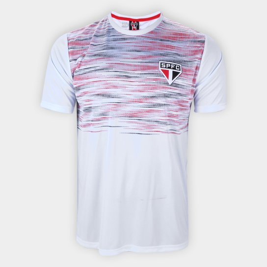 Camiseta São Paulo Maybe Masculina - Branco