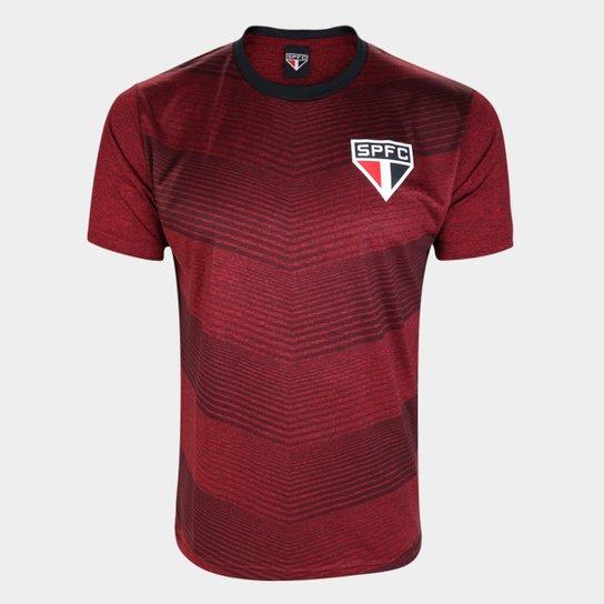 Camiseta São Paulo Novelli Masculina - Vermelho