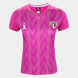 Camiseta São Paulo Outubro Rosa Feminina