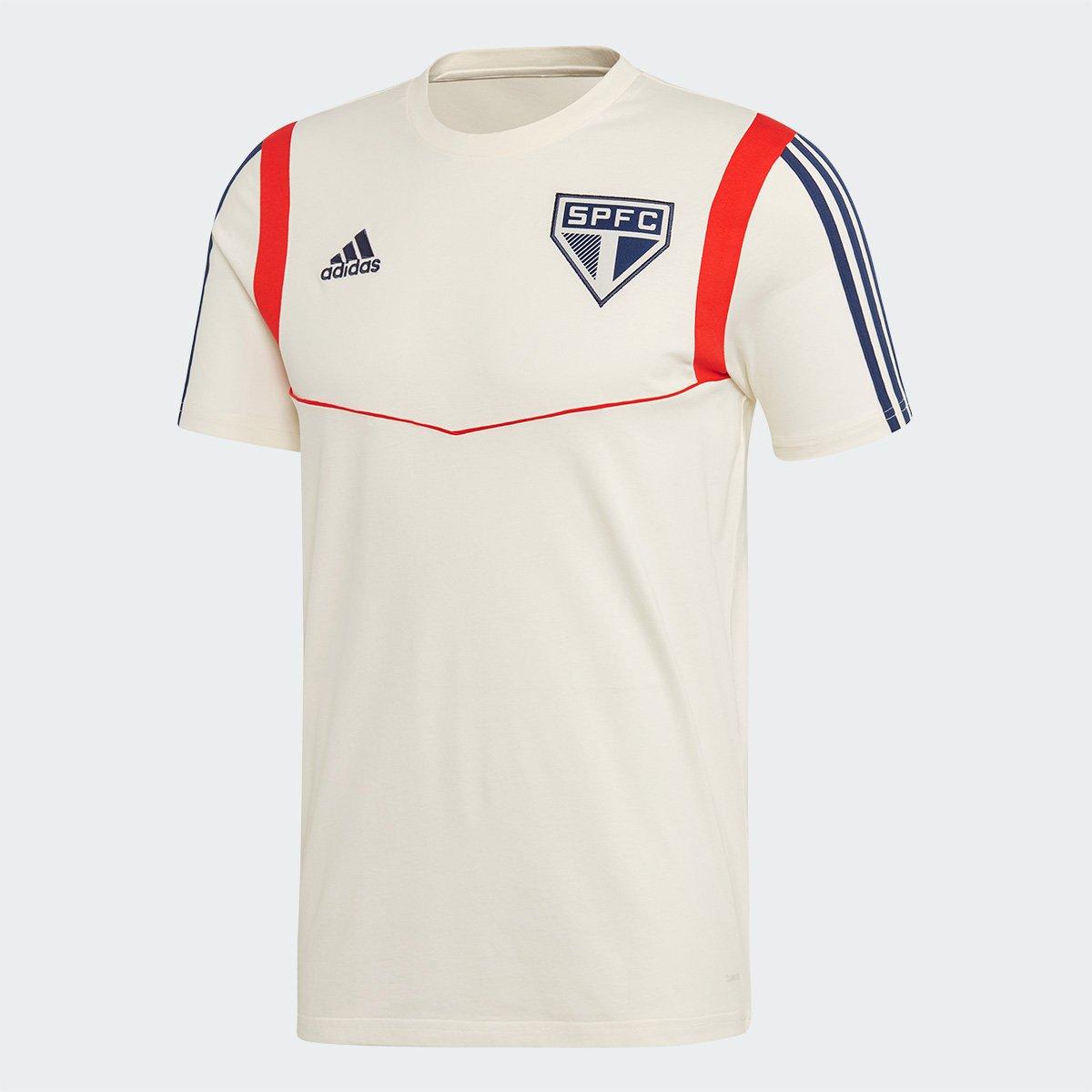 3c78aad45 Camiseta São Paulo Torcedor Adidas Masculina - Branco - Compre Agora ...