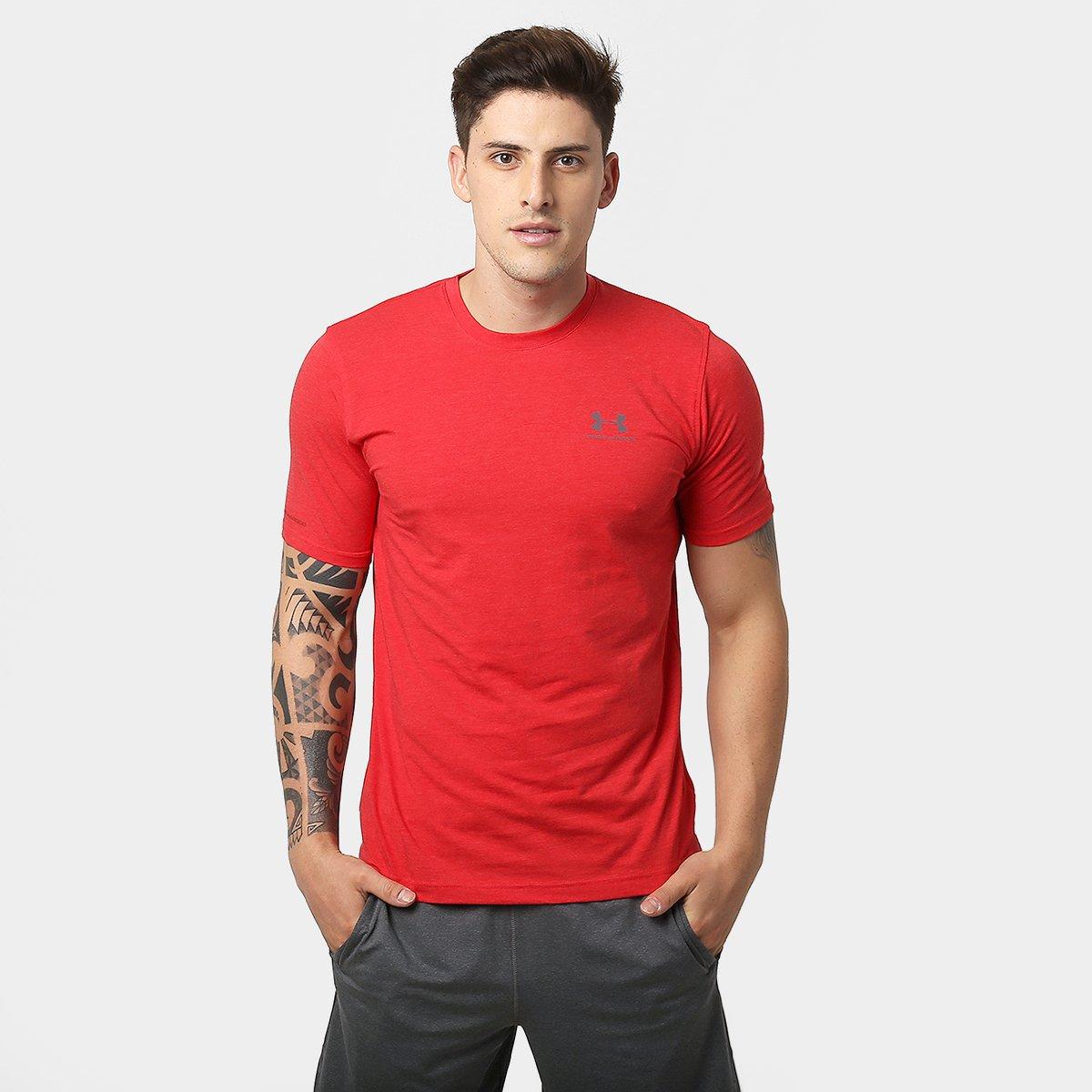 bc8510f8f85 Camiseta Under Armour Left Chest Lockup Masculina - Compre Agora ...