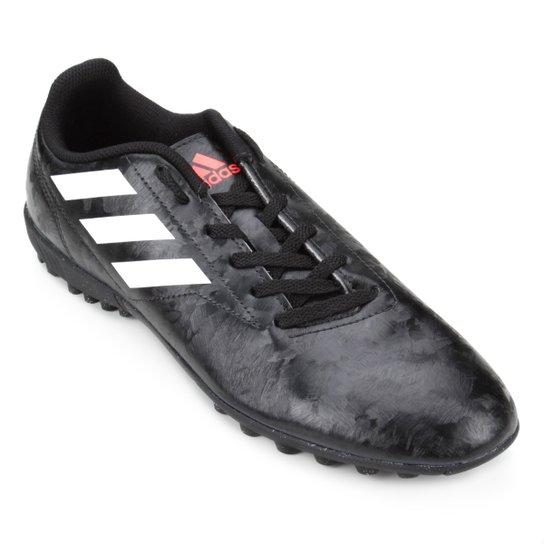 Chuteira Adidas Conquisto II Society TF  - Preto