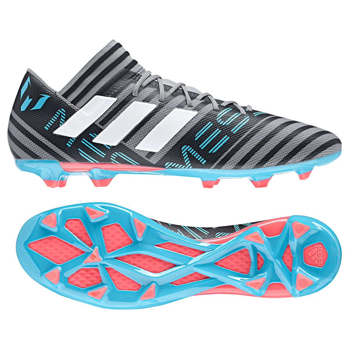 cfc56c46a5 Chuteira Campo Adidas Nemeziz Messi 17.3 FXG