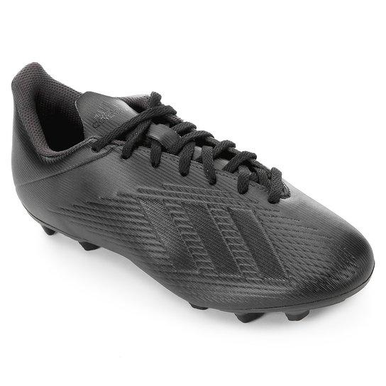 Chuteira Campo Adidas X 19 4 FG - Preto