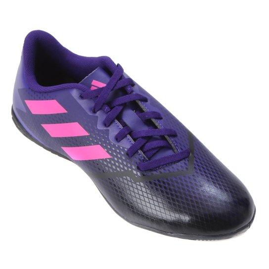 Chuteira Futsal Adidas Artilheira IV - Roxo+Rosa