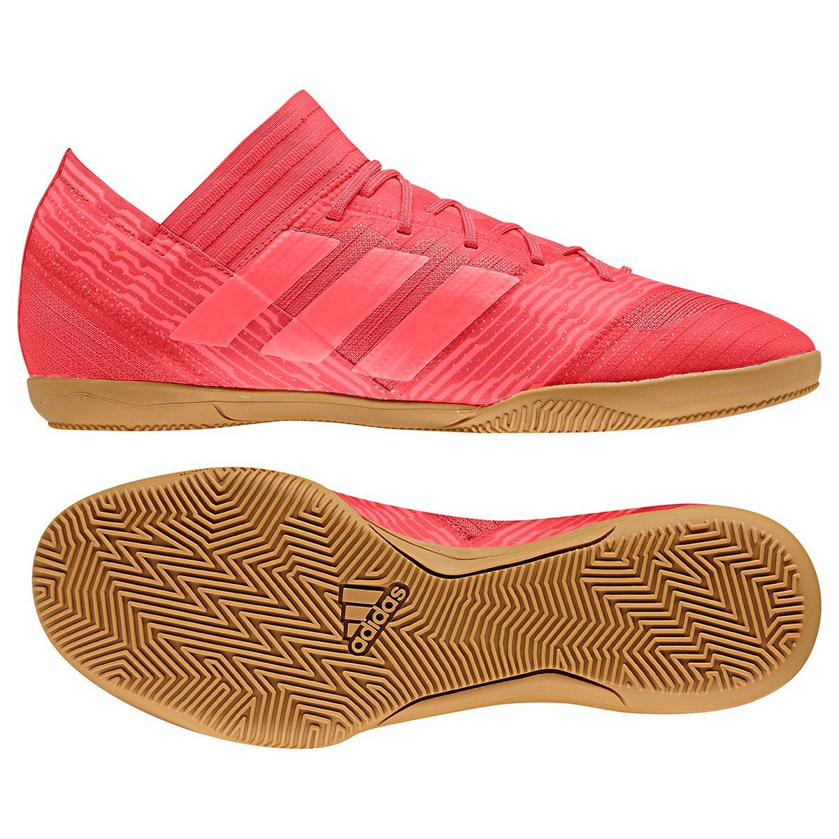 3443137d52d50 Chuteira Futsal Adidas Nemeziz 17.3 IN - Vermelho - Compre Agora ...
