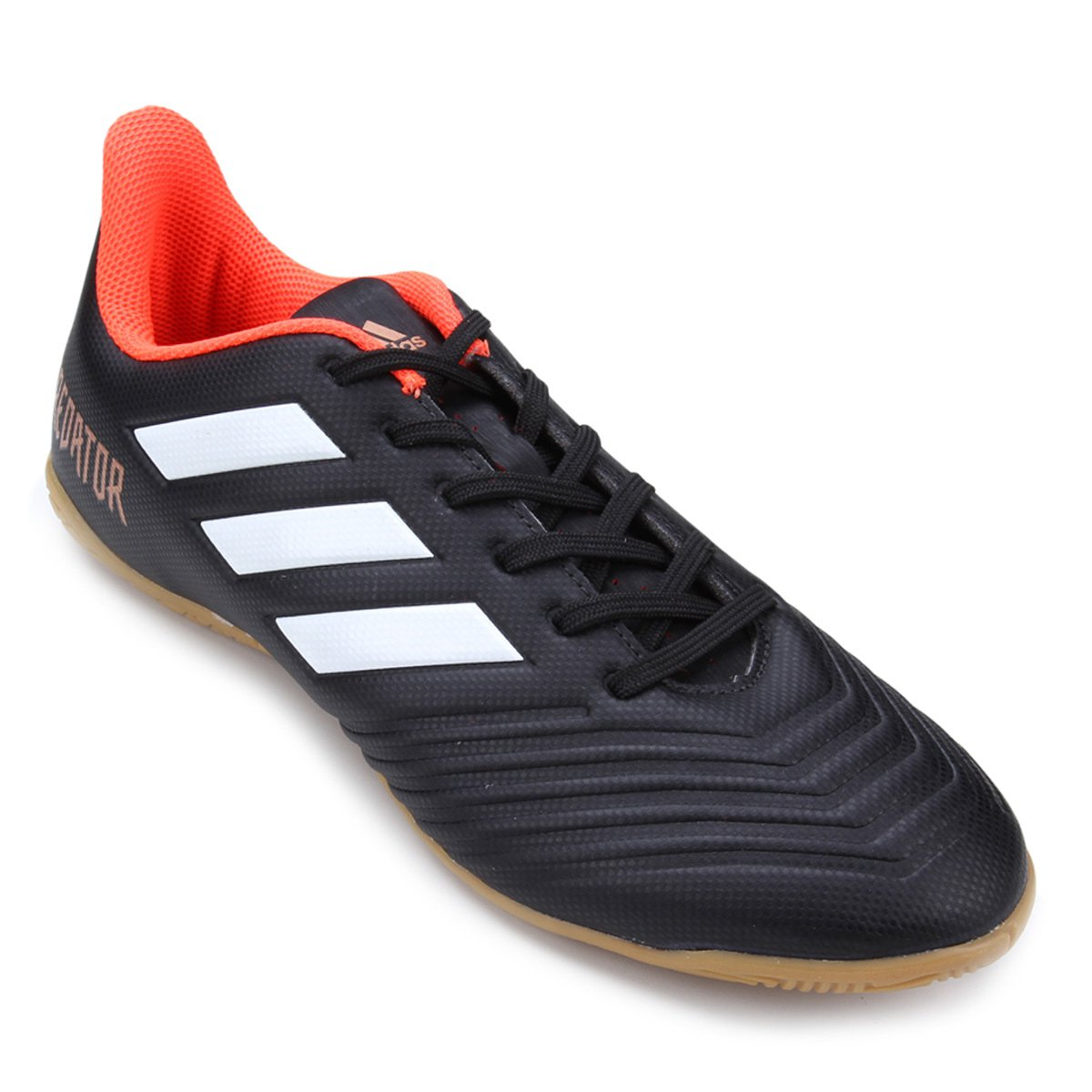 58e49b3931 Chuteira Futsal Adidas Predator 18 4 IN - Preto - Compre Agora