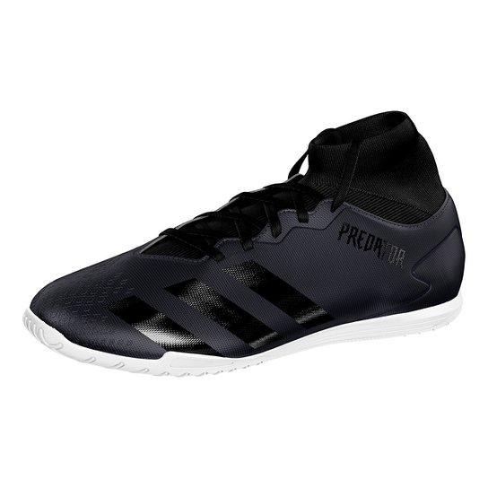 Chuteira Futsal Adidas Predator 20 4 S IN - Preto