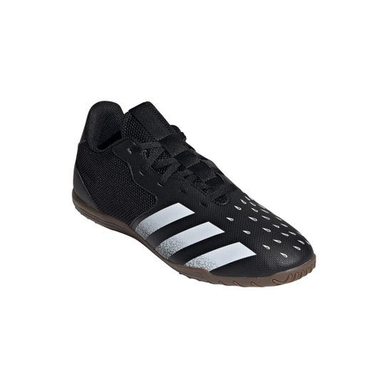 Chuteira Futsal Adidas Predator Freak 4 - Preto+Branco