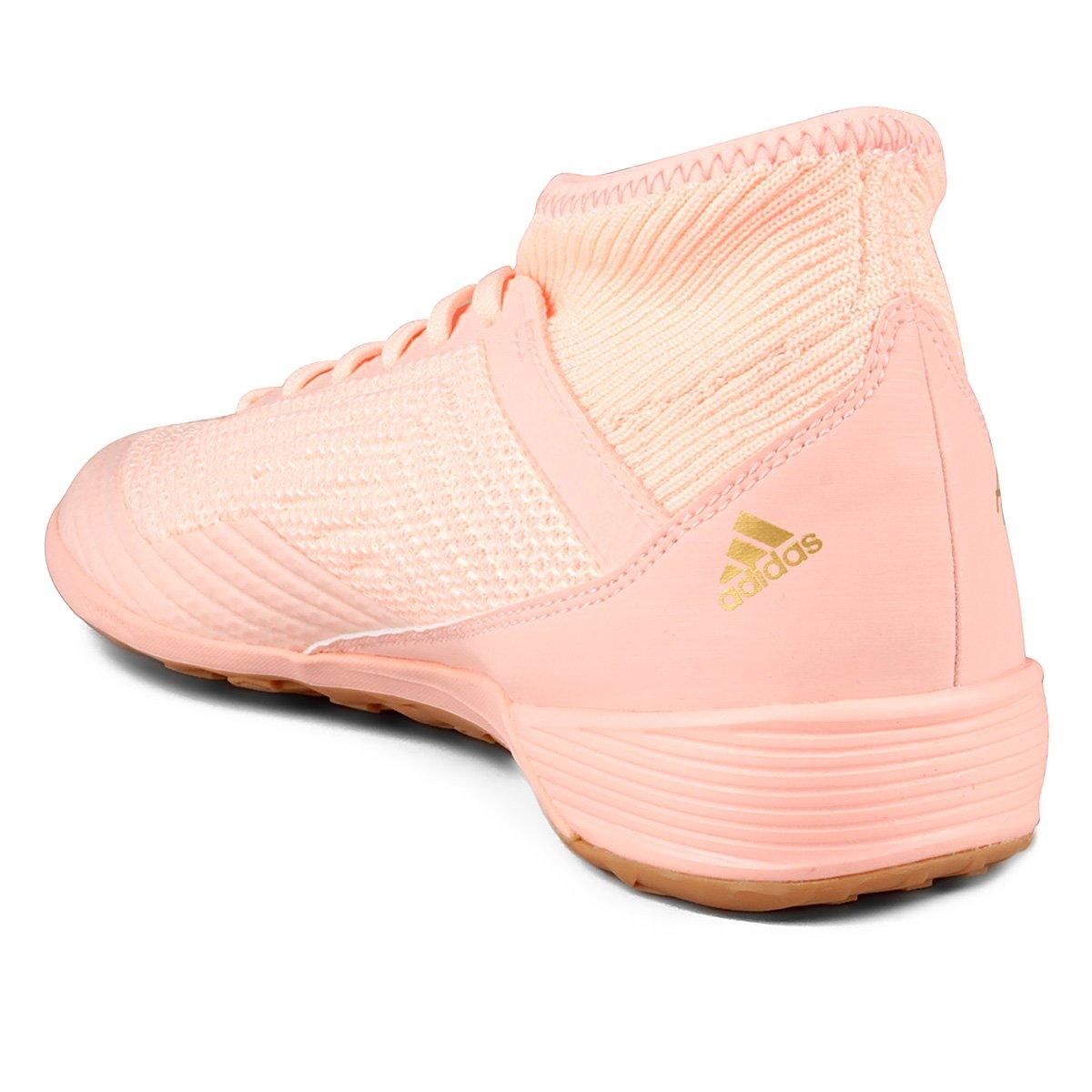 adidas rosa chuteira
