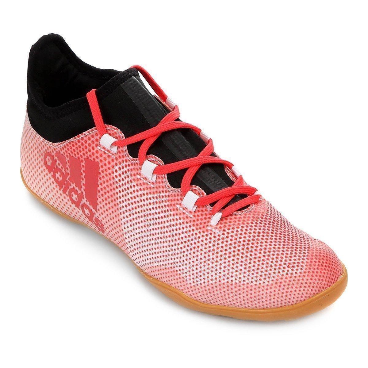 02d151eec99fb Chuteira Futsal Adidas X 17.3 IN - Branco - Compre Agora