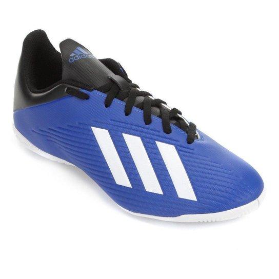 Chuteira Futsal Adidas X 19 4 IN - Azul