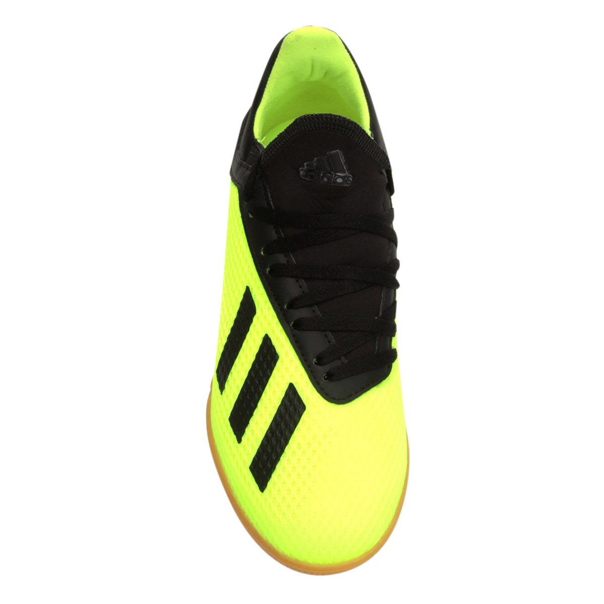 new collection chuteira futsal adidas x tango 18 3 in masculina azul e  amarelo 75400 329bb a7ba43b72d959