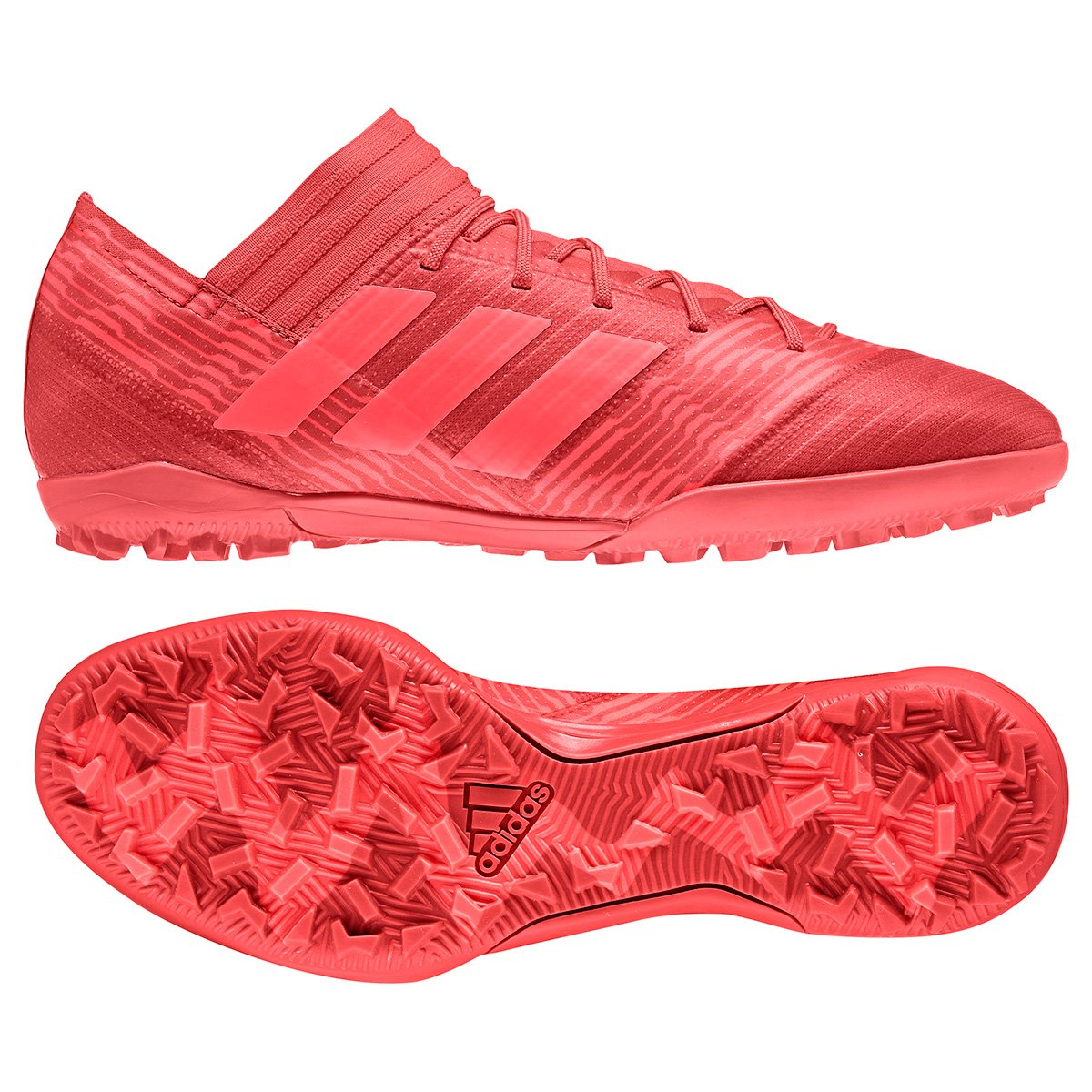 e5af5b2533 Chuteira Society Adidas Nemeziz 17.3 TF - Vermelho