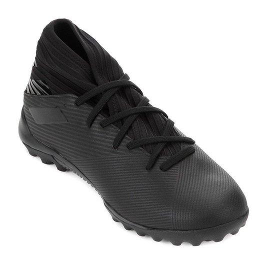 Chuteira Society Adidas Nemeziz 19 3 TF - Preto