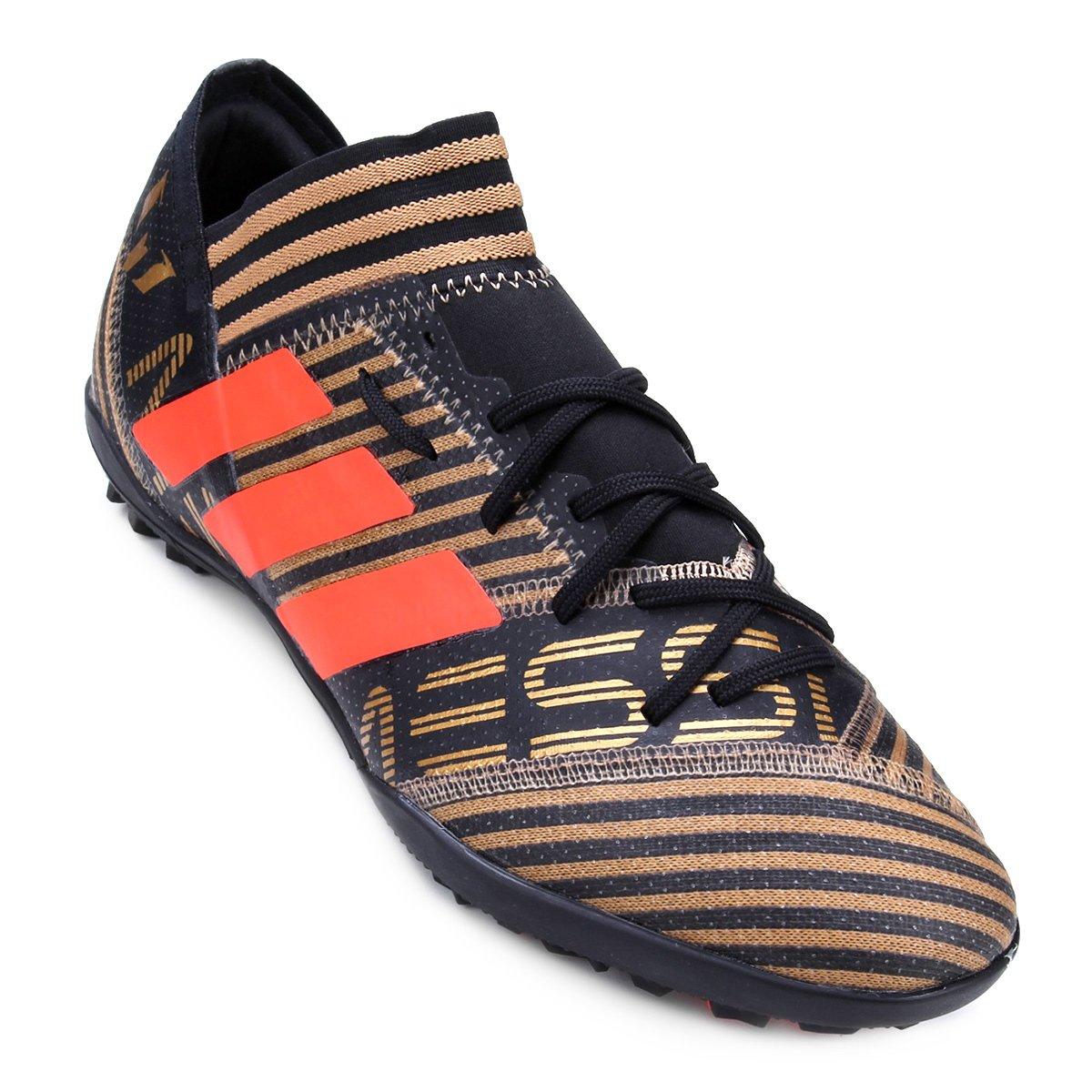 6e1834b2ec0 Chuteira Society Adidas Nemeziz Messi 17.3 TF Masculina - Compre Agora