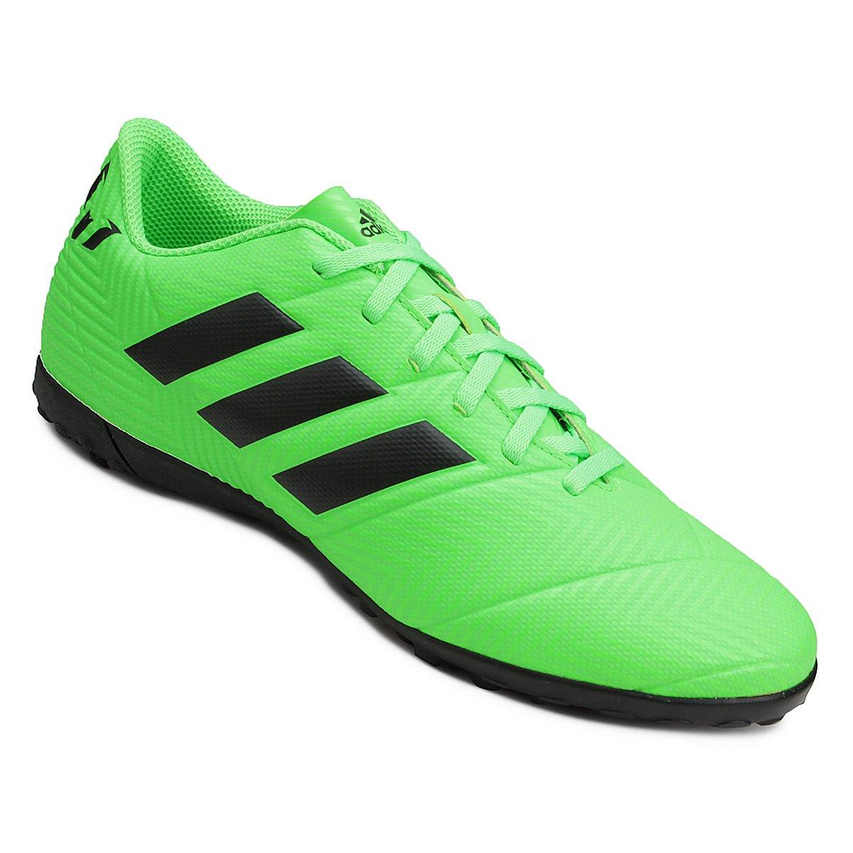 4ad52581209bb Chuteira Society Adidas Nemeziz Messi Tan 18 4 TF   São Paulo Mania