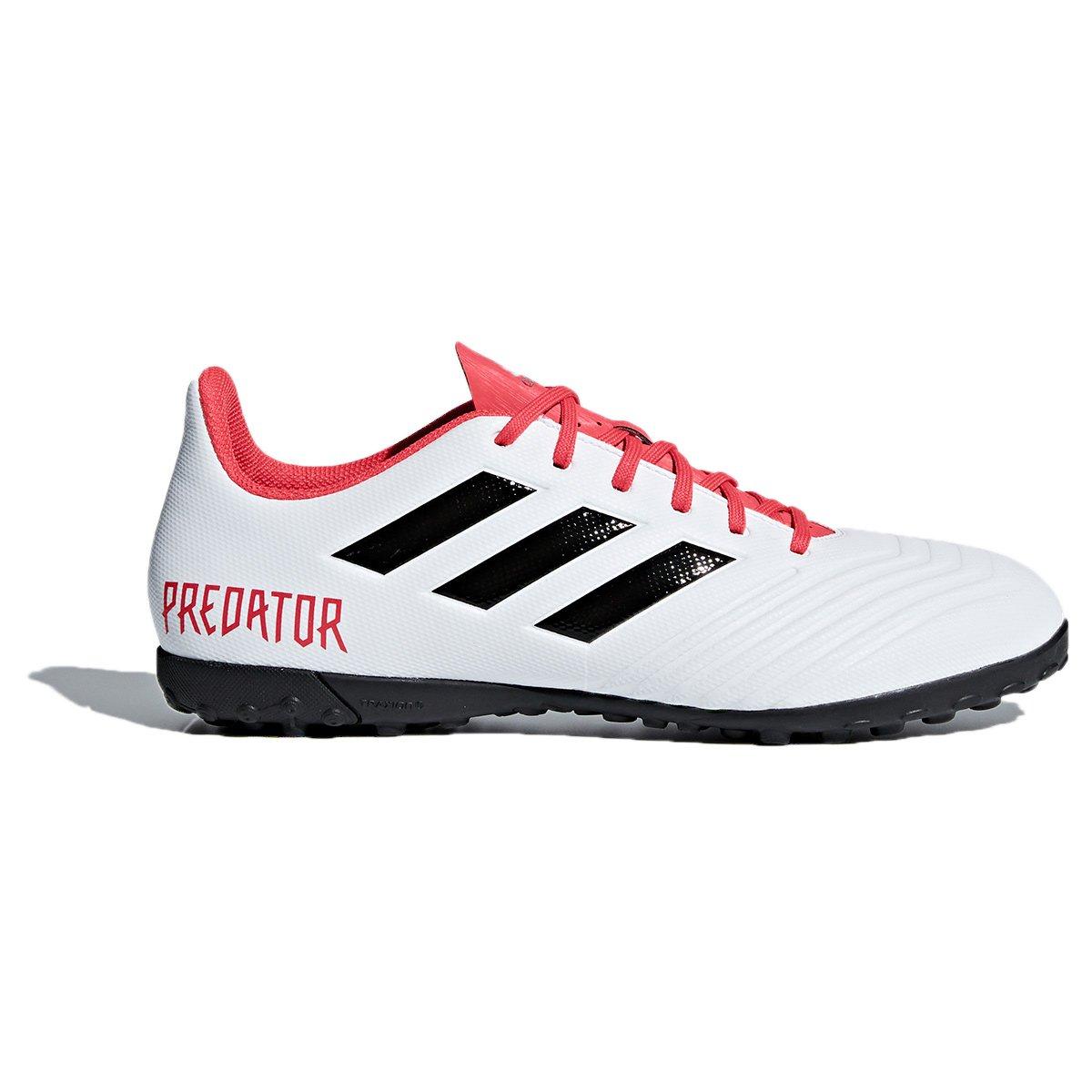 240fc156828ca Chuteira Society Adidas Predator 18.4 TF - Preto e Branco - Compre Agora