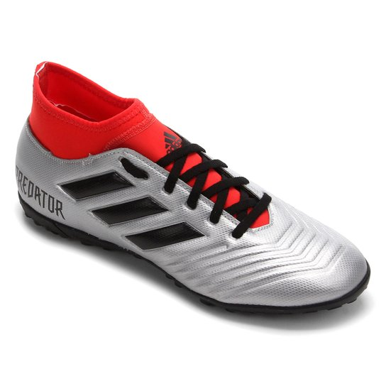 Chuteira Society Adidas Predator 19 4 S TF - Preto