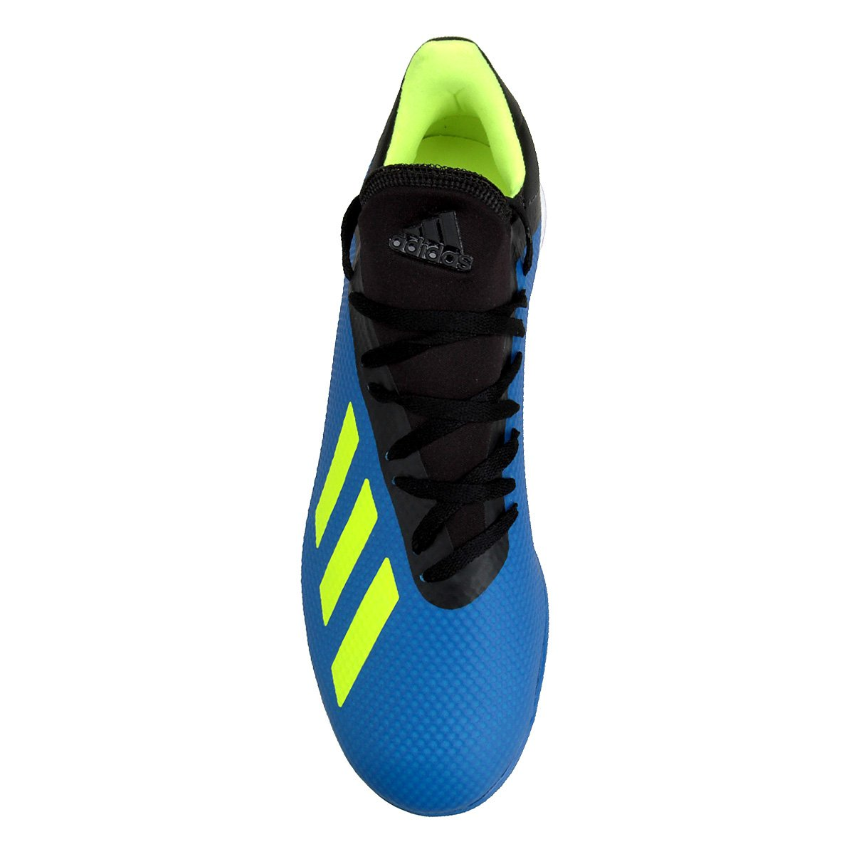 Chuteira Society Adidas X Tango 18 3 TF - Azul e Preto - Compre ... 51735fa07f6f3