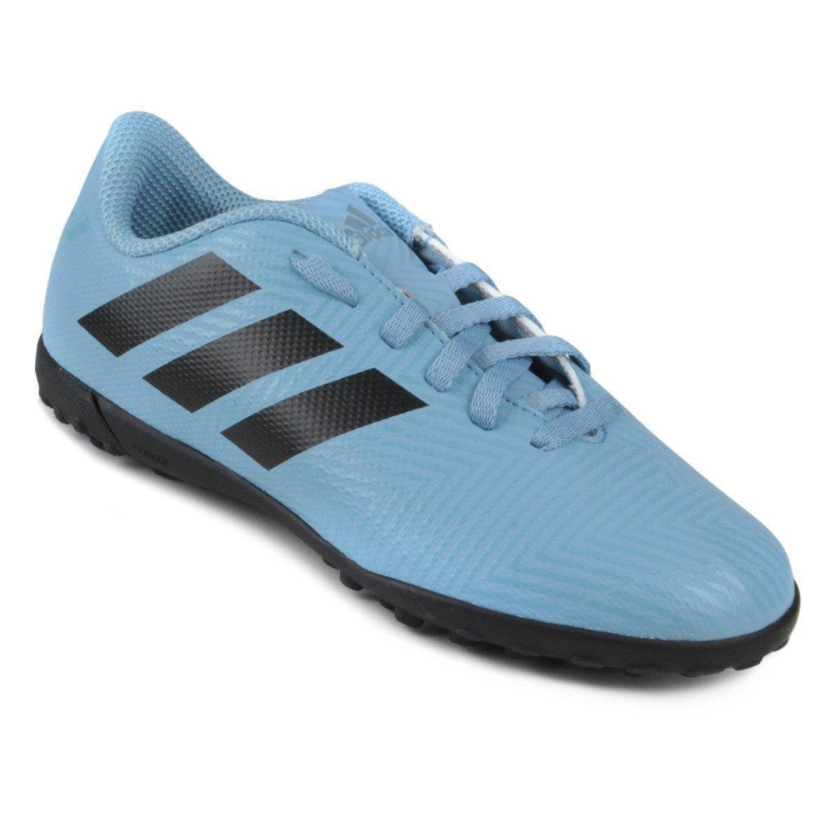 94466b16b44 Chuteira Society Infantil Adidas Nemeziz Messi 18 4 Tf Azul E
