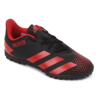 Chuteira Society Infantil Adidas Predator 20 4 TF Jr