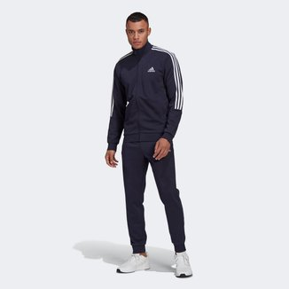 Conjunto Adidas Essentials 3 Listras Masculino