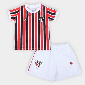 Conjunto São Paulo Infantil Torcida Baby