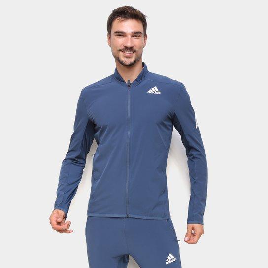 Jaqueta Adidas Aeroready 3 Listras Masculina - Azul