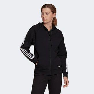 Jaqueta Moletom Adidas Sportswear Future Icon 3 Stripes Feminina