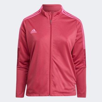 Jaqueta Plus Size Adidas Tiro 21 Feminina