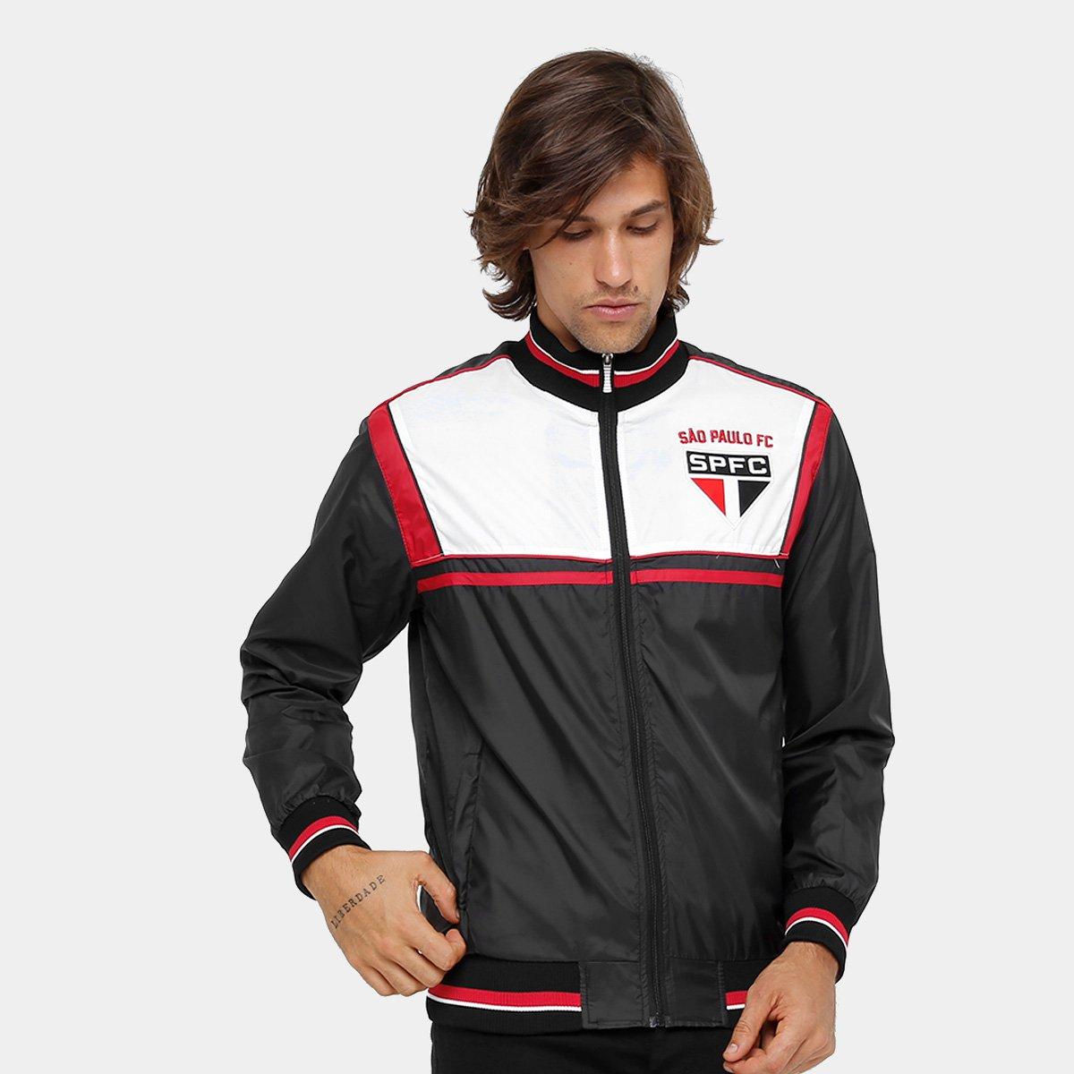 efb101e0db Jaqueta São Paulo Vintage FC 17 Masculina - Compre Agora