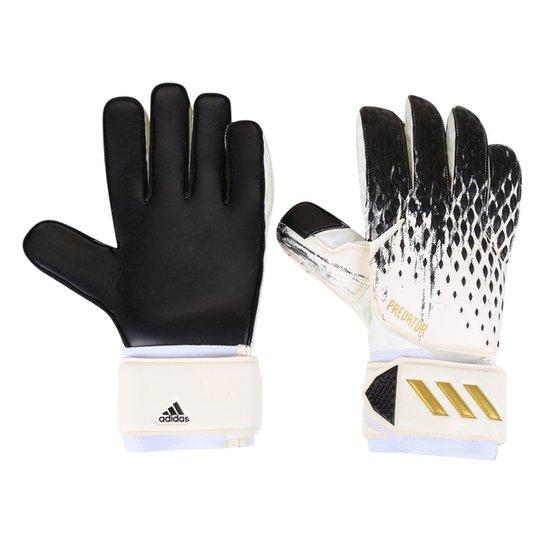 Luva de Goleiro Adidas Predator Match - Branco+Preto