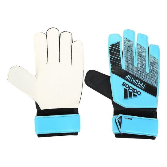 Luva de Goleiro Adidas Predator Training - Azul+Preto